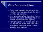 other recommendations1