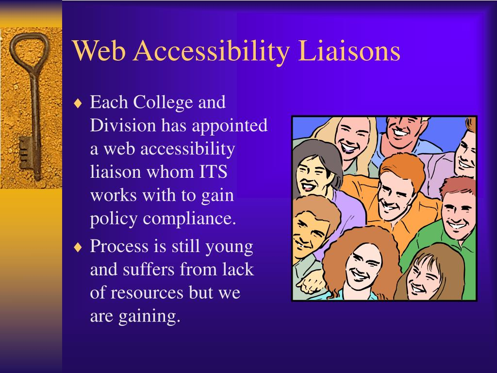 Web Accessibility Liaisons