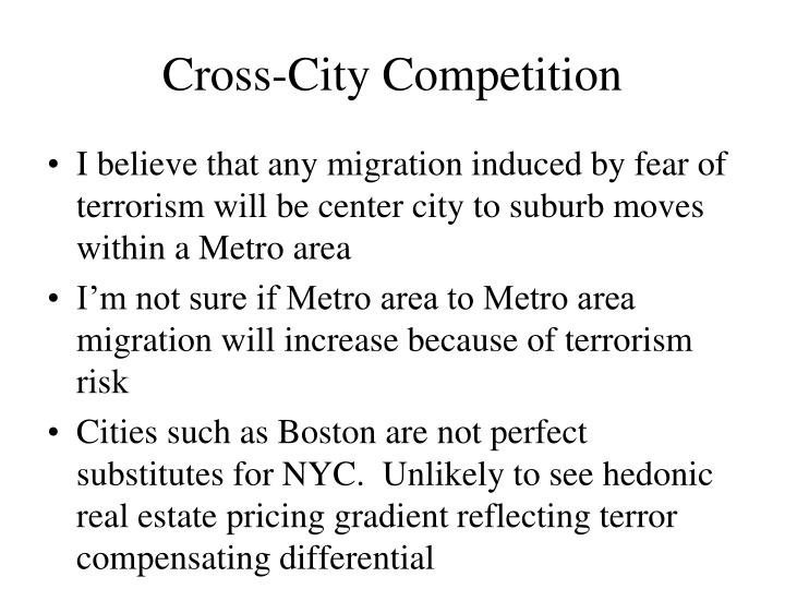 Cross-City Competition