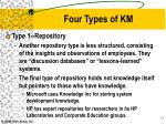 four types of km1