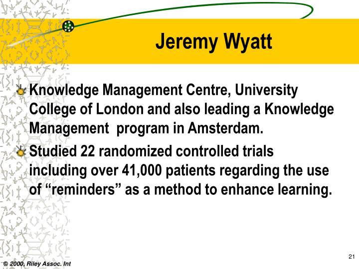 Jeremy Wyatt