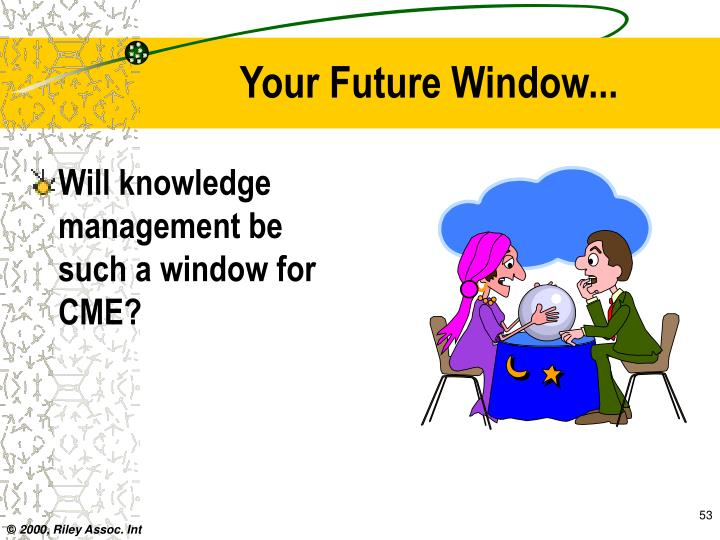 Your Future Window...