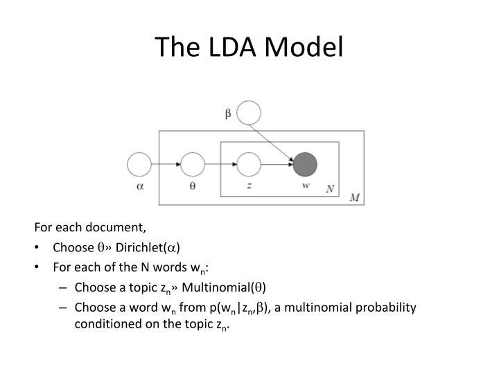 The LDA Model