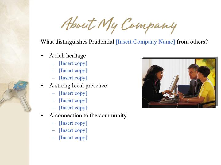 What distinguishes Prudential