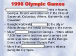1996 olympic games