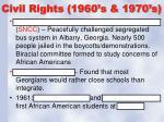 civil rights 1960 s 1970 s