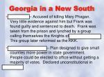 georgia in a new south2