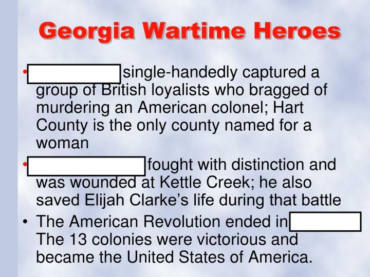 Georgia Wartime Heroes