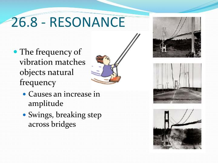 26.8 - RESONANCE