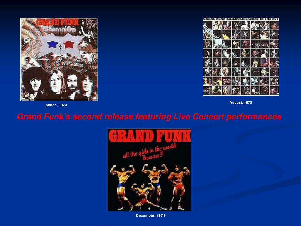 Grand Funk's second release featuring Live Concert performances