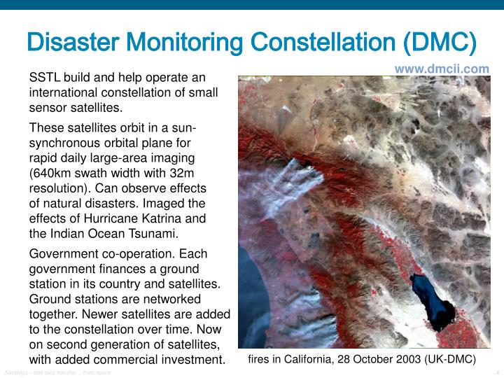 Disaster Monitoring Constellation (DMC)