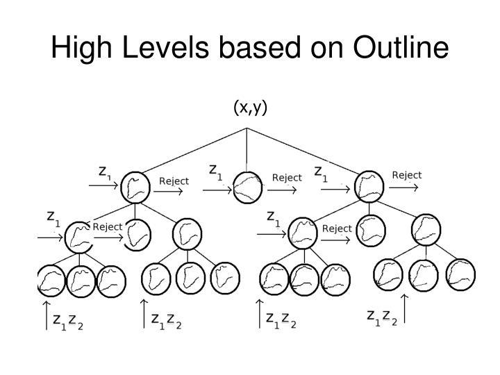 High Levels based on Outline