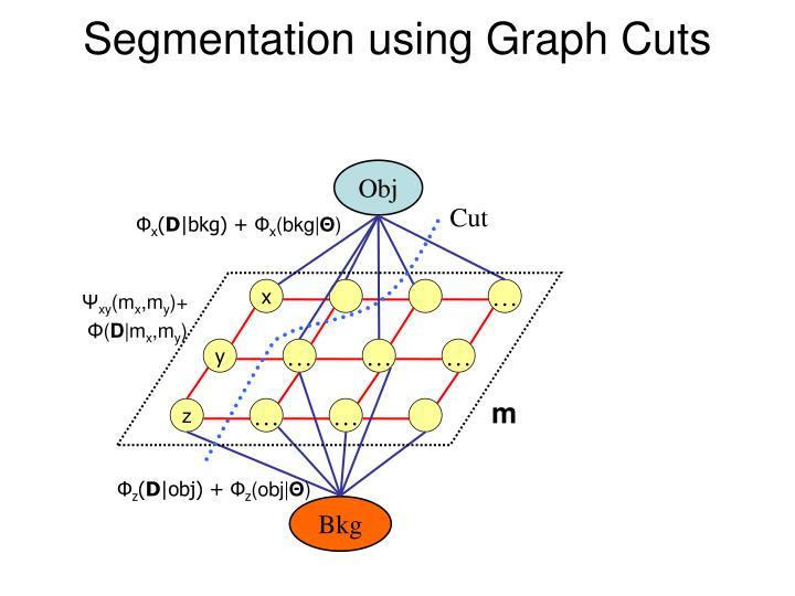 Segmentation using Graph Cuts