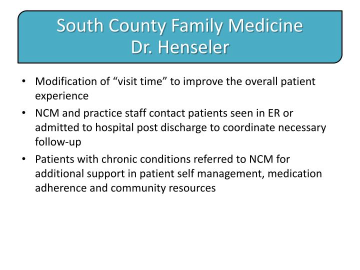 South County Family Medicine