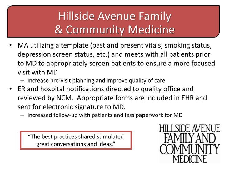 Hillside Avenue Family