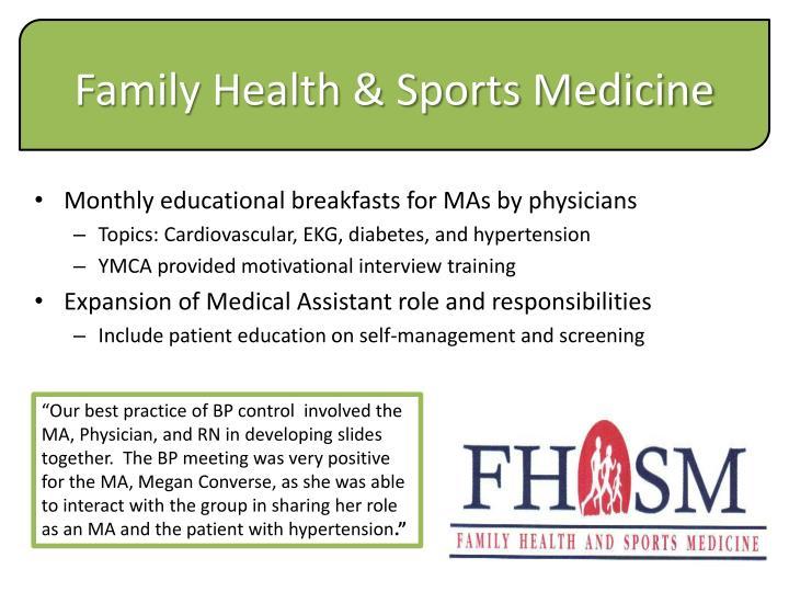 Family Health & Sports Medicine
