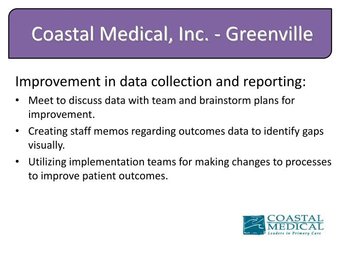 Coastal Medical, Inc. - Greenville