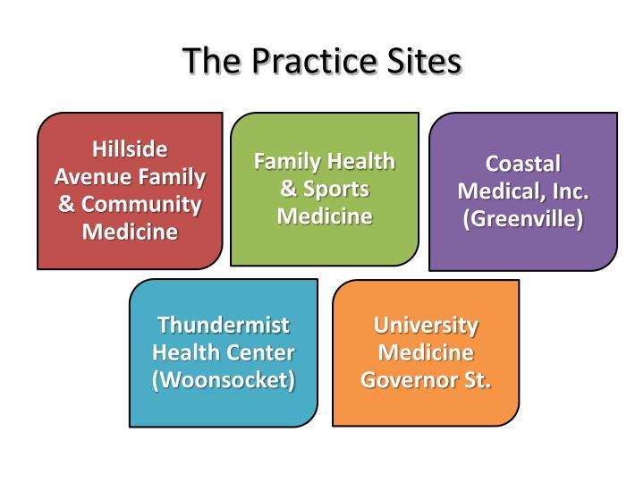 The Practice Sites