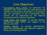 core objectives1