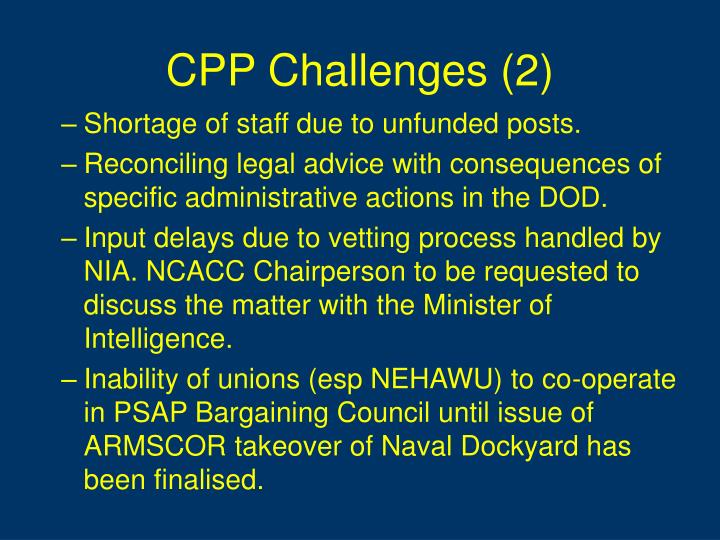 CPP Challenges (2)