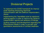 divisional projects