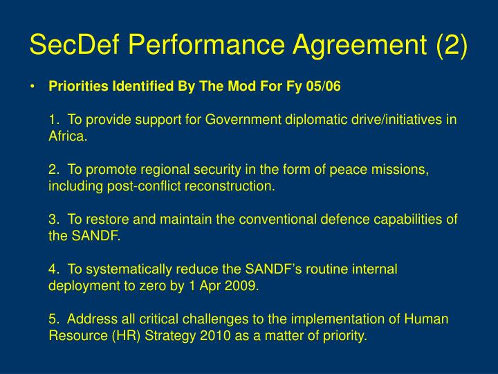 SecDef Performance Agreement (2)