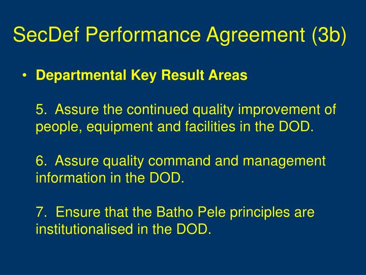 SecDef Performance Agreement (3b)