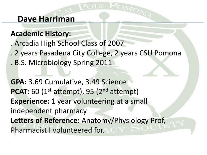 Dave Harriman