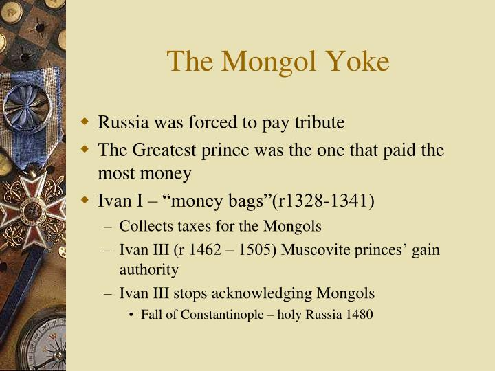 The Mongol Yoke
