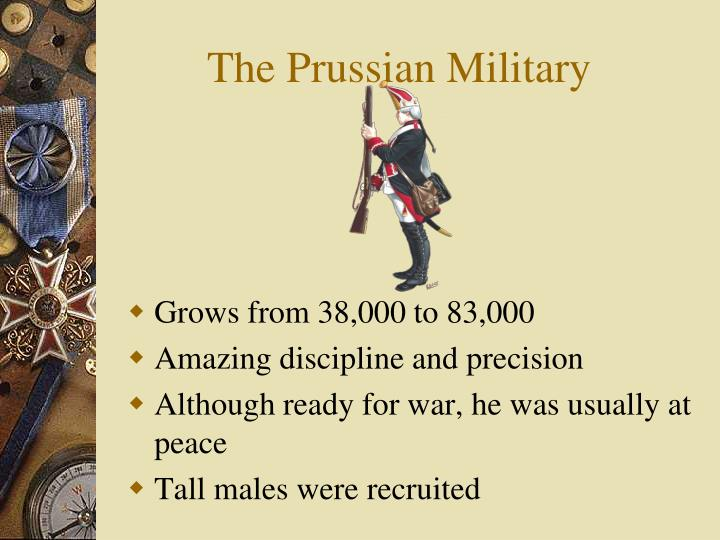 The Prussian Military