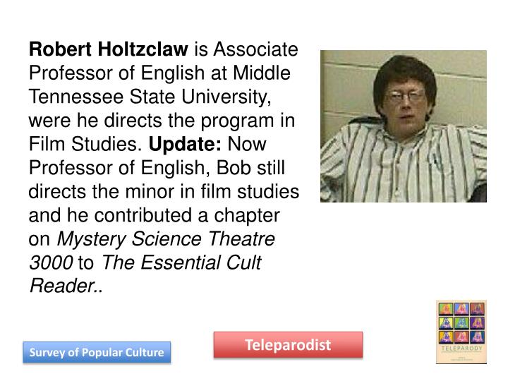 Robert Holtzclaw