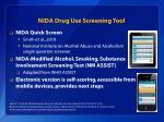 nida drug use screening tool