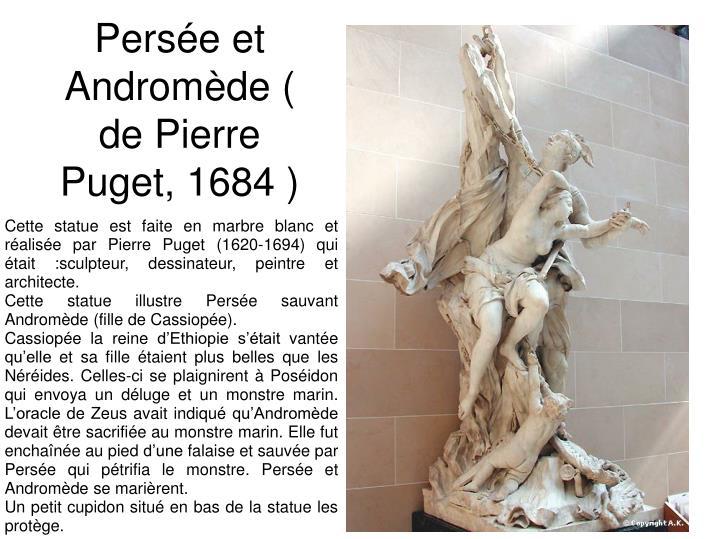 Persée et Andromède ( de Pierre Puget, 1684 )