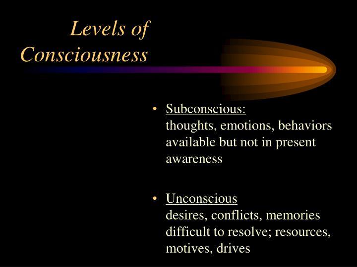 Subconscious: