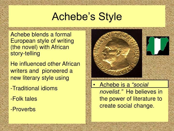 Achebe's Style