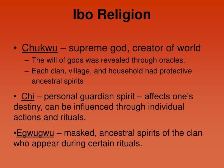 Ibo Religion