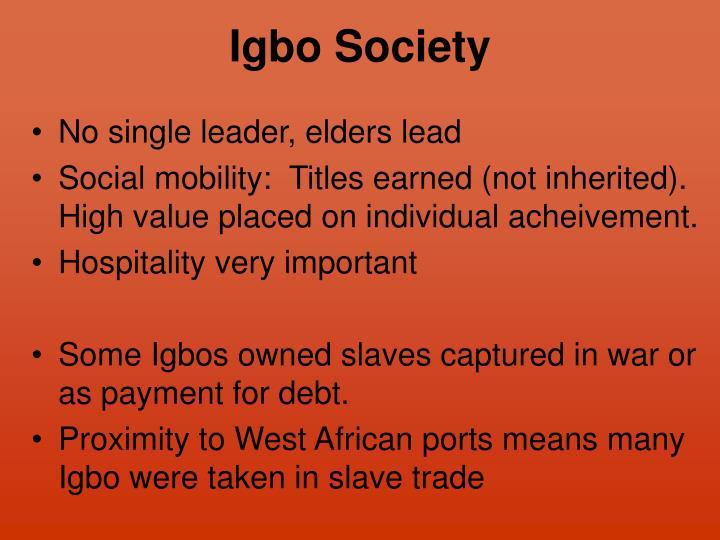 Igbo Society