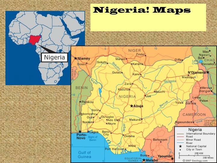 Nigeria! Maps
