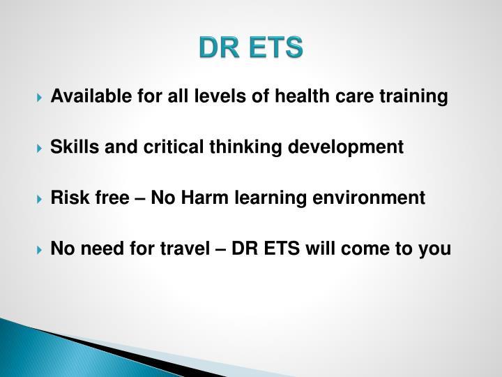 DR ETS