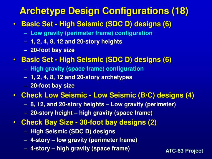 Archetype Design Configurations (18)