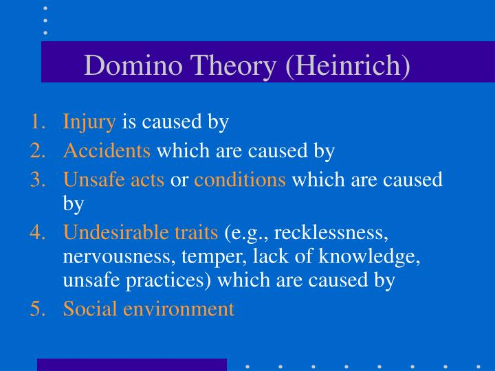 Domino Theory (Heinrich)