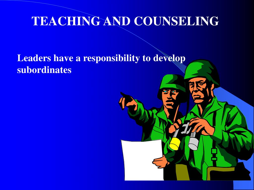 TEACHING AND COUNSELING
