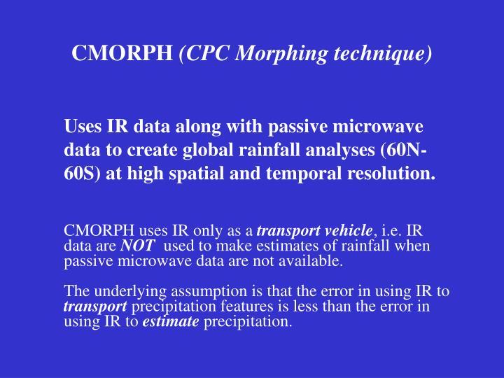 CMORPH