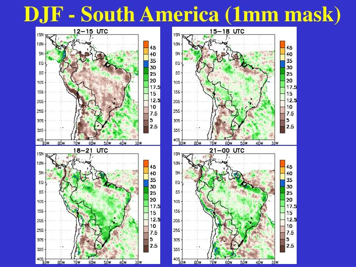 DJF - South America (1mm mask)