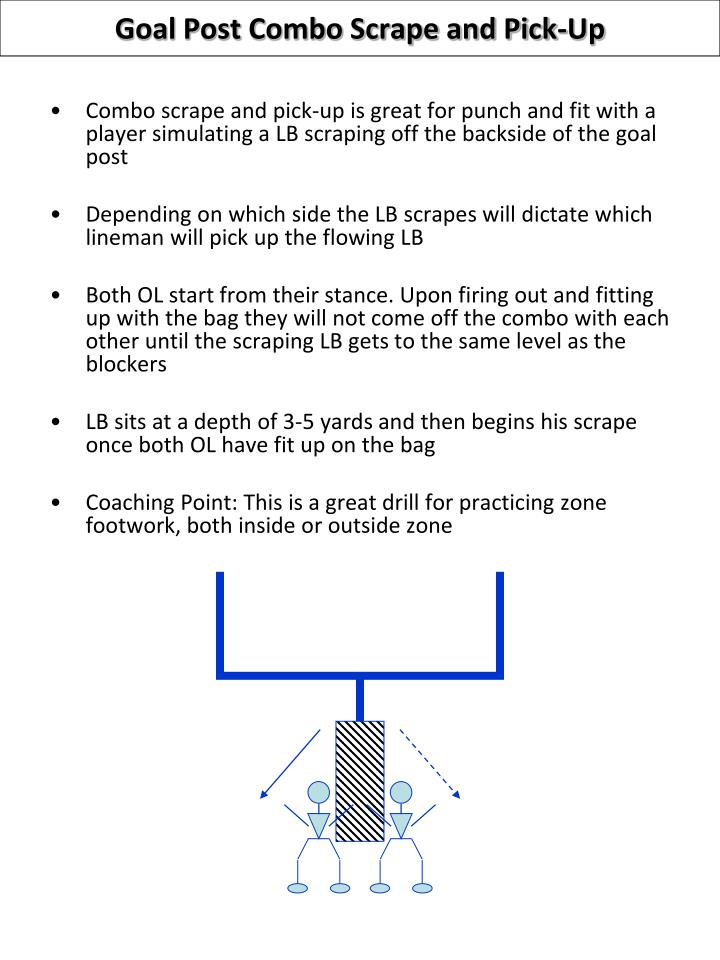 Goal Post Combo Scrape and Pick-Up