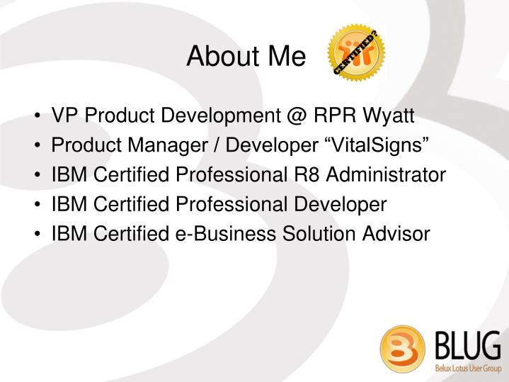 VP Product Development @ RPR Wyatt