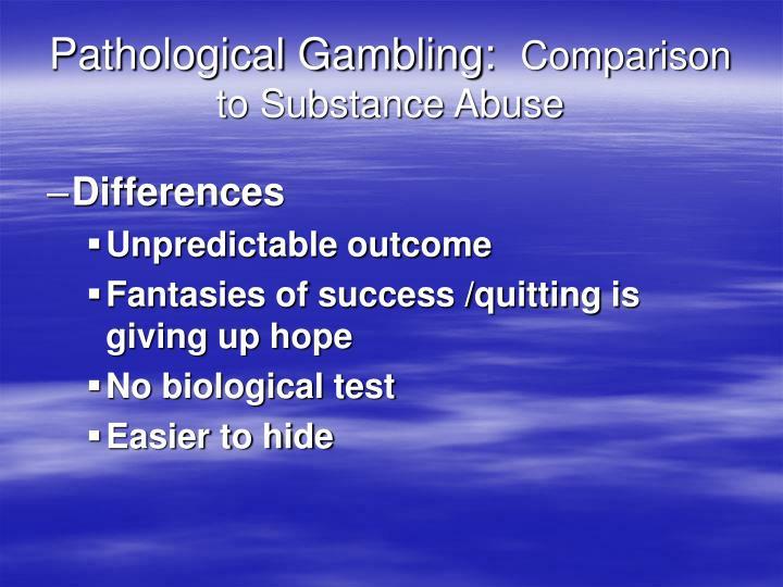 Gambling powerpoint presentation