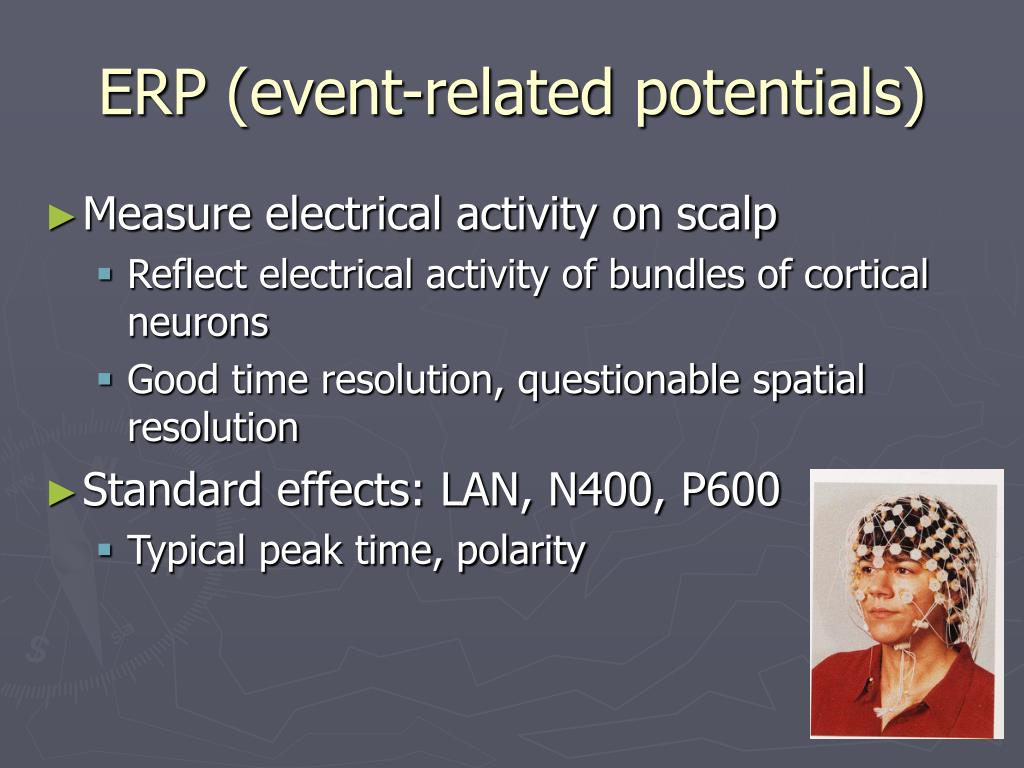 ERP (event-related potentials)