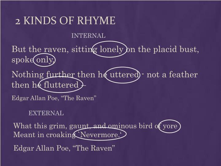 2 Kinds of Rhyme