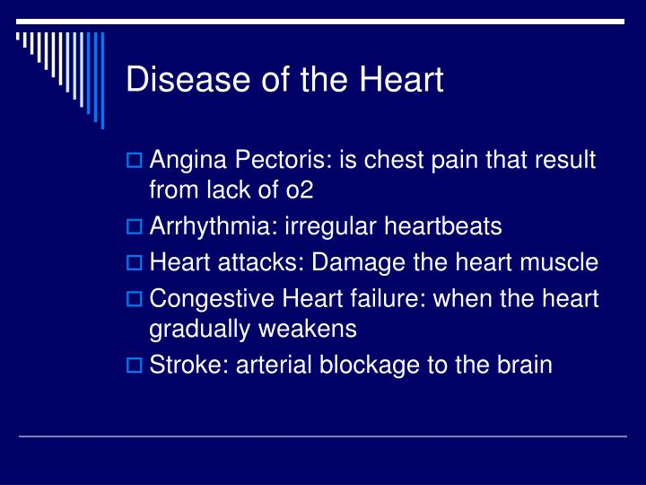 Disease of the Heart